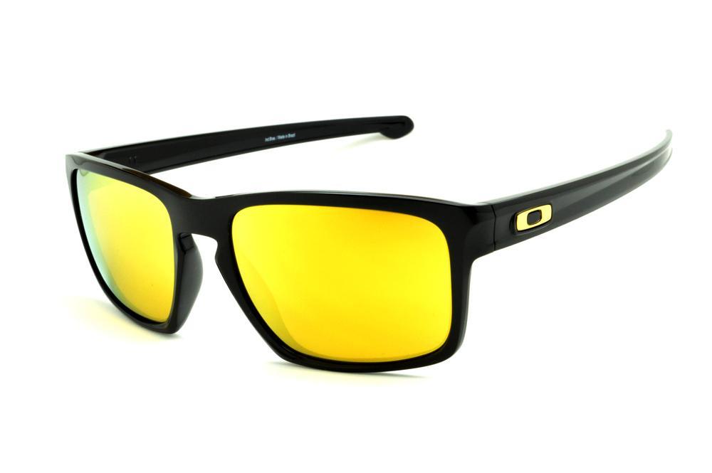 1fc9eaf229f02 Óculos de sol Oakley OO9262L Sliver preto e lente amarela